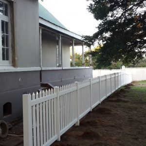 Open Picket fencing