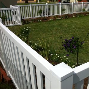 Closed Picket Fencing