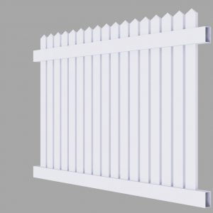 PVC Picket Fencing