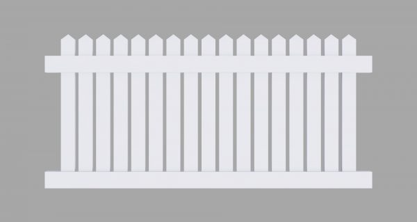 PVC Picket Fencing