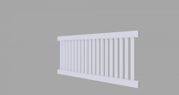 PVC Pool Fence