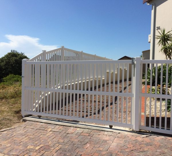 PVC Rolling Gate