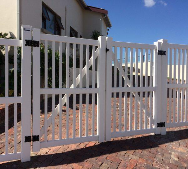 PVC Double Gates