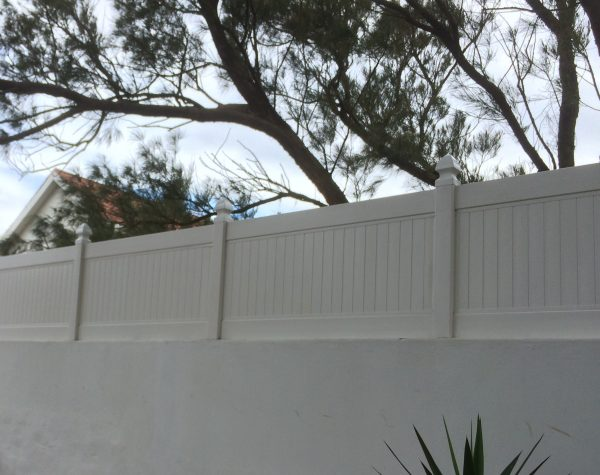 uPVC Privacy Wall Extension