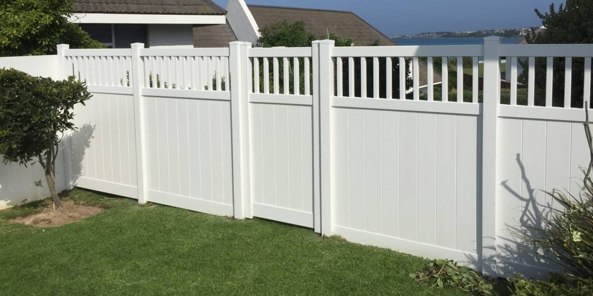 PVC Semi Private Fencing
